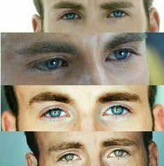 The eyes of Chris Evans