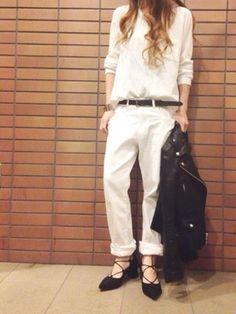 misa│UngridのTシャツ/カットソーコーディネート