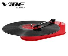 Vibe Sound Mini Portable USB Turntable and MP3 Converter In 4 Colors (Free Shipping)   JustAmazingDeals.com