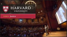 https://www.youtube.com/watch?v=kBdfcR-8hEY&t=6s #justice #harvard #education #philosophy