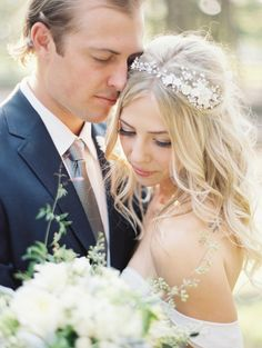 #Hair | See the wedding on SMP --  http://www.StyleMePretty.com/2014/01/06/romantic-country-montana-wedding-at-the-weatherwood-homestead/ Jeremiah and Rachel Photography