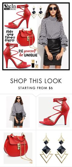 """""""Shein 4./2"""" by b-necka ❤ liked on Polyvore featuring Yves Saint Laurent, Sheinside and shein"""