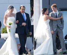 Daniela Ruah e David Paul Olsen casam-se em Cascais