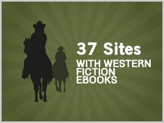 37 Sites With Free Western Ebooks