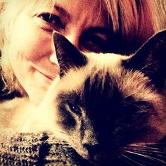 """#365grateful """"Over the years you have beautiful cats, and charming cats, and very nice cats, but once in a lifetime you meet your 'soul' cat. And that's what you are my little Saoirse... Grateful to be home at last. #cats #love"""