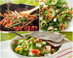 Acompaña tus platillos con una rica ensalada de ejotes. Receta fácil de preparar.