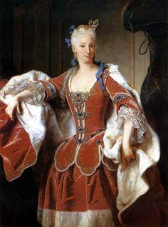 Isabel de Farnesio, segunda esposa de Felipe V.