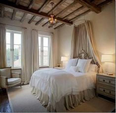 I would absolutely love this as a guest bedroom, so gender neutral and relaxing.