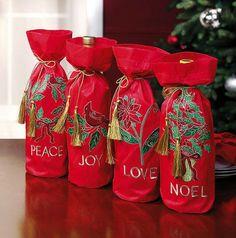 Holiday Wine Bag from Lillian Vernon.  Get your rebate from RebateBlast.