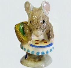 Royal Albert China - Special Collections - Beatrix Potter Figurines - Appley Dapply