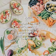 VSCO Filters for Food – VSCO FILTER HACKS White Instagram Theme, White Feed, Best Vsco Filters, Vsco Pictures, Vsco Presets, Fresh Rolls, Instagram Feed, Food Photography, Ethnic Recipes