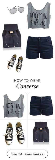 """normal is boring"" by princesaurbana on Polyvore featuring Monsoon, Barbour, Converse and Quay"