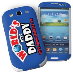 Personalised Worlds Best Samsung Galaxy S3 Phone Skin  from Personalised Gifts Shop - ONLY £7.95