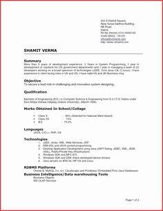 resume templates high school graduate