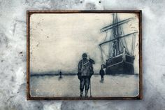 NEW Vintage wooden sign 'Ross Sea Party' by VASSdesign