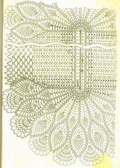 manteles ovalados tejidos a crochet - Buscar con Google