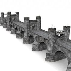 3d medieval bridge model - Bridge by Medievalworlds from TurboSquid.com: