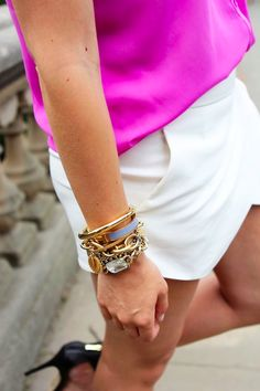 skort + jewels