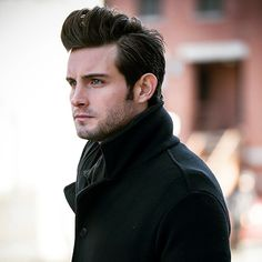 Nico Tortorella filming YoungerTV in NYC. Click to watch Nico in the latest episode of YoungerTV on TV Land at http://www.tvland.com/shows/younger.