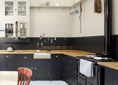 British Standard...I re-love this cabinet treatment, counters, etc every time I see it