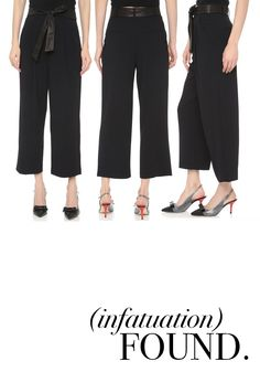 These high waist pants from Alice + Olivia are perfect for professional events when you're trying to make an impression AND social outings with friends.