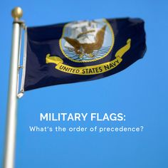 The order of precedence when displaying military flags together is Army, Marine Corps, Navy, Air Force and Coast Guard. Nascar Flags, Sports Flags, Military Flags, Navy Military, Order Of Precedence, Different Flags, Us Flags, Flag Store, Custom Flags