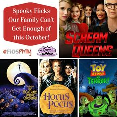 Spooky Flicks Our Family Can't Get Enough of this October!