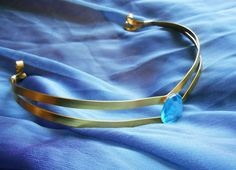 Sailor Moon, Sailor Mercury, Sailor Mercury Tiara, Gold Tiara, Mercury Crown, Sailor Moon Cosplay, Sailormoon Cosplay - pinned by pin4etsy.com