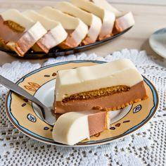 Sernik na zimno z czekoladą