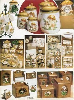 1982p1 Vintage Kitchenware, Vintage Dishes, Sweet Memories, Childhood Memories, Mushroom Decor, Dining Ware, Christmas Catalogs, Oldies But Goodies, Ol Days