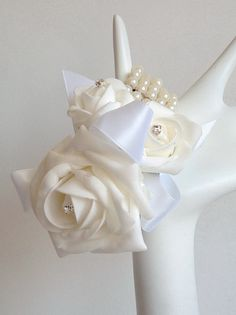 Set of 3 Corsages on Etsy, $30.00