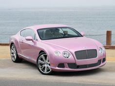 ~ iLuxus.cz ~ Mějte přehled o svých snech ~ Růžový Bentley bojuje proti rakovině