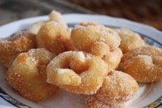 Buñuelos ibicencos. Gastronomía Ibiza