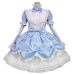 Lifeye Cosplay Skirt Split Sleeve Dress Maid Outfit *** You can get more details by clicking on the image.
