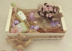 Vintage easter basket
