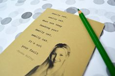 Phoebe quote notebook friends tv show journal by invisiblecrown