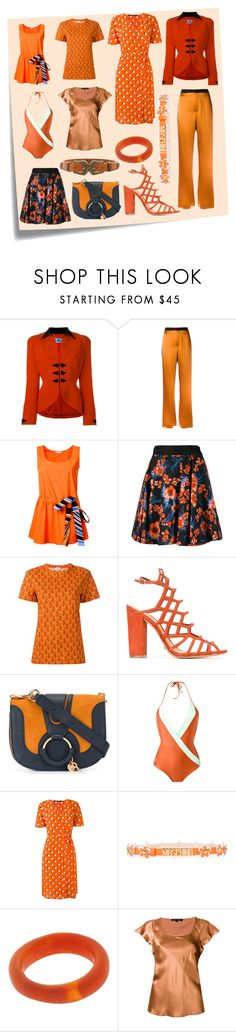 """""""Blow of New"""" by cate-jennifer ❤ liked on Polyvore featuring Post-It, Thierry Mugler, Lanvin, Emilio Pucci, FAUSTO PUGLISI, Au Jour Le Jour, Schutz, See by Chloé, ADRIANA DEGREAS and Moschino"""