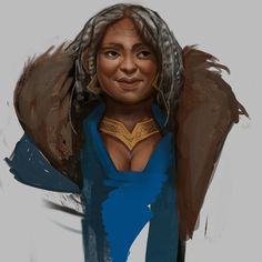 Dwarf Female Practice , Taylor Fischer on ArtStation at https://www.artstation.com/artwork/ll3BV