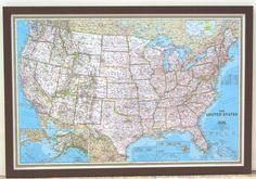 14 Best Framed Maps Images Wall Maps Framed Maps Map Frame