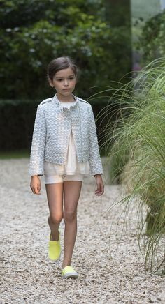 Bonpoint Summer 2015 Fashion Show #Bonpoint #FashionShow #kidsfashion