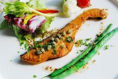 鮭のムニエル はちみつマスタードソース | はちみつレシピ