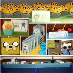 Adventure Time Food & Decor for an awesome party!
