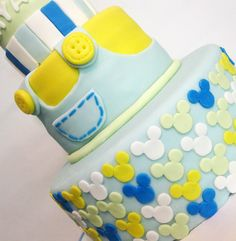 baby mickey mouse cakes | TavitaCakes: Baby Mickey Mouse Cake