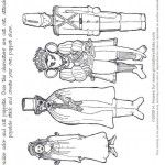 Printable Nutcracker Puppets ~ Clara, Uncle, Mouse King, Toy Soldier