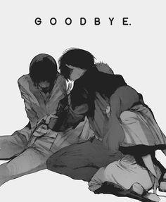 Mutsuki Tooru, Shirazu Ginshi, Kaneki Ken, Yonebayashi Saiko | Goodbye...... ;_;