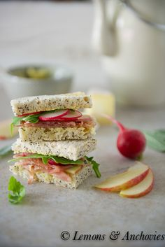 Shrimp, Brie and Cucumber Tea Sandwiches | Recipe | Brie, Tea ...