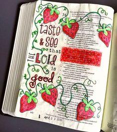 Bible journaling by mimi psalm scripture bi Scripture Doodle, Scripture Study, Bible Art, Book Art, Bible Drawing, Bible Doodling, Bible Journaling For Beginners, Bible Study Journal, Bible Prayers