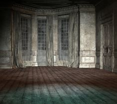 Pin by Patience Farseer on Окна Creepy houses Background Empty room