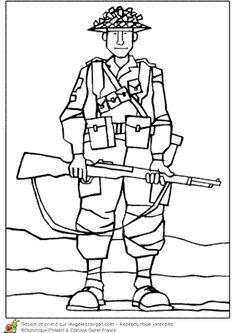 Coloriage Soldat Anglais.18 Meilleures Images Du Tableau Coloriages Coloriage A Imprimer A