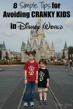 Disney World WITHOUT the meltdowns and tantrums? It sound impossible, but here are 8 Simple Tips for Avoiding CRANKY KIDS in Disney World! Walt Disney World Vacations, Disney World Trip, Disney Travel, Disney Worlds, Family Vacations, Disney Parks, Family Travel, Orlando Disney, Disney Bound